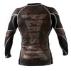 Рашгард Peresvit Immortal Silver Force Rashguard Long Sleeve Lava - фото 2