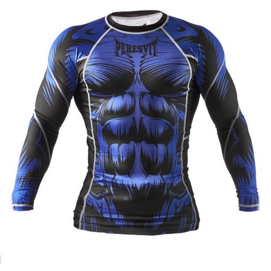 Рашгард Peresvit Beast Silver Force Rashguard Long Sleeve Blue