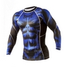 Рашгард Peresvit Beast Silver Force Rashguard Long Sleeve Blue - фото 3