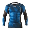 Рашгард Peresvit Immortal Silver Force Rashguard Long Sleeve Dark Marine - фото 1