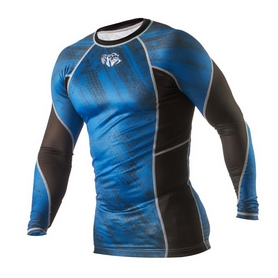 Фото 3 к товару Рашгард Peresvit Immortal Silver Force Rashguard Long Sleeve Dark Marine