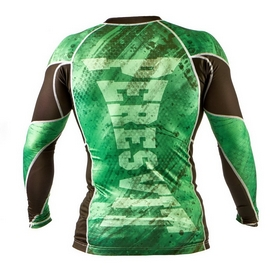 Фото 2 к товару Рашгард Peresvit Immortal Silver Force Rashguard Long Sleeve Green Lantern