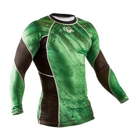 Фото 3 к товару Рашгард Peresvit Immortal Silver Force Rashguard Long Sleeve Green Lantern