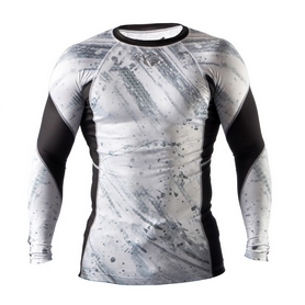 Фото 1 к товару Рашгард Peresvit Immortal Silver Force Rashguard Long Sleeve Snowstorm