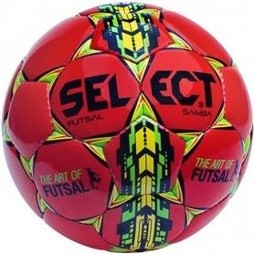 Мяч футзальный Select Futsal Samba красный