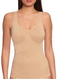 Фото 1 к товару Майка утягивающая (корректирующая) Control Bodysuit Thin vest ST-9161 телесная