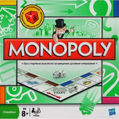 Игра настольная Монополия Украина (Monopoly Ukraine) (укр. яз.) Hasbro