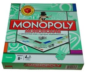 Фото 1 к товару Игра настольная Монополия International Toys Trading LTD