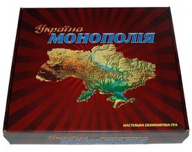 Фото 1 к товару Игра настольная Монополия Люкс Украина