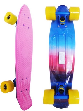 Скейт Penny Board Abstract Fish Limited Edition
