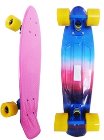 Пенни борд Penny Board Abstract Fish Limited Edition