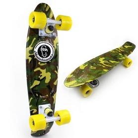 Фото 2 к товару Скейт Penny Board Military Fish Limited Edition
