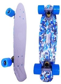 Пенни борд Penny Board Kamuflage Blue Fish