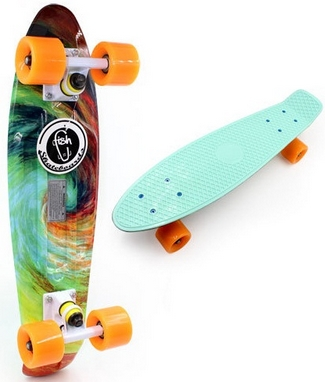 Скейт Penny Board Twister Limited Edition