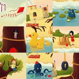 Фото 3 к товару Игра на ассоциации Имаджинариум Детство