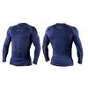 Футболка компрессионная с длинным рукавом Peresvit 3D Performance Rush Compression T-Shirt Navy - фото 3