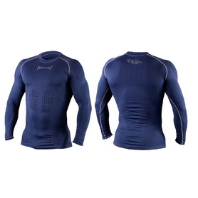 Фото 3 к товару Футболка компрессионная с длинным рукавом Peresvit 3D Performance Rush Compression T-Shirt Navy