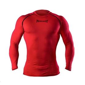 Футболка компрессионная с длинным рукавом Peresvit 3D Performance Rush Compression T-Shirt Red