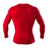 Футболка компрессионная с длинным рукавом Peresvit 3D Performance Rush Compression T-Shirt Red - фото 3