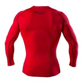 Фото 3 к товару Футболка компрессионная с длинным рукавом Peresvit 3D Performance Rush Compression T-Shirt Red