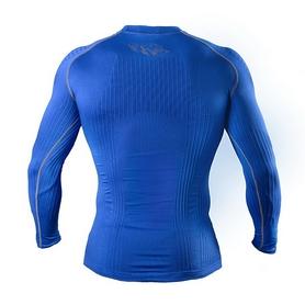 Фото 2 к товару Футболка компрессионная с длинным рукавом Peresvit 3D Performance Rush Compression T-Shirt Royal