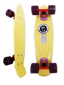 Скейтборд Penny Swirl Fish SK-404-12 желтый