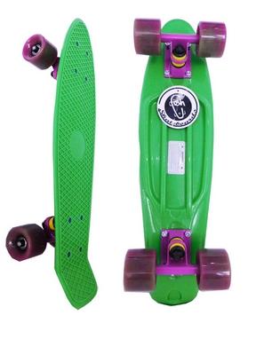 Скейтборд Penny Swirl Fish SK-404-13 зеленый