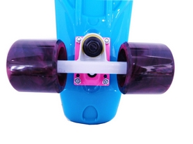 Фото 2 к товару Пенни борд Penny Swirl Fish SK-404-16 синий
