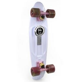 Скейтборд Penny Swirl Fish SK-404-18 белый