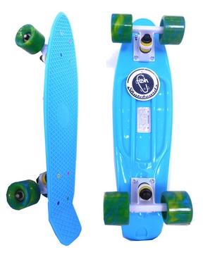 Пенни борд Penny Swirl Fish SK-404-6 голубой