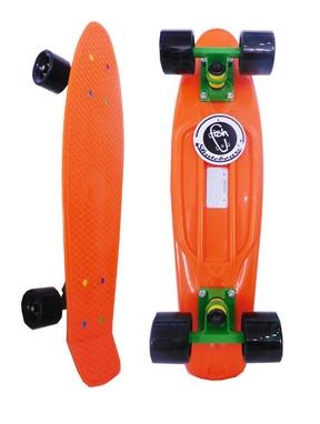 Пенни борд Penny Swirl Fish SK-404-7 оранжевый