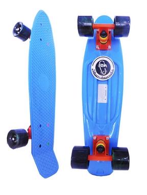 Скейтборд Penny Swirl Fish SK-404-8 синий