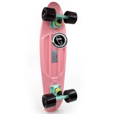 Скейтборд Penny Swirl Fish SK-404-9 розовый