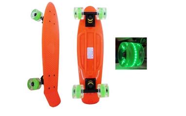 Пенни борд Penny Wheels Fish SK-405-3 оранжевый