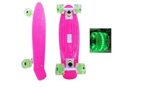 Фото 1 к товару Скейтборд Penny Wheels Point Fish SK-406-2 розовый