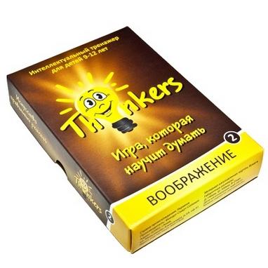 Игра настольная Thinkers 9-12 лет. Воображение