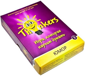 Игра настольная Thinkers 9-12 лет. Юмор
