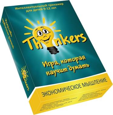 Игра настольная Thinkers 9-12 лет. Экономическое мышление