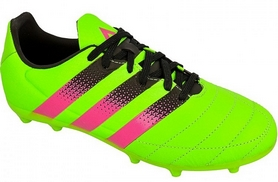 Бутсы футбольные Adidas ACE 16.3 FG/AG J Leather AF5159