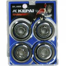 Фото 1 к товару Колеса для роликов Kepai 80 мм