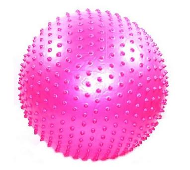 Мяч для фитнеса (фитбол) массажный 75 см Pro Supra