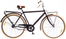 """Велосипед городской Dorozhnik Comfort Male 14G Velosteel St 28"""" 2016 черный, рама 22"""""""