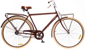 """Велосипед городской Dorozhnik Comfort Male 14G Velosteel St 28"""" 2016 коричневый, рама 22"""""""