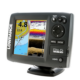 Эхолот (сонар) Lowrance Elite-5 CHIRP