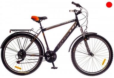 Велосипед городской Formula Magnum AM 14G Vbr St с багажником 26