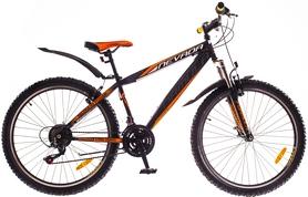 """Велосипед горный Formula Nevada AM 14G Vbr St 26"""" 2016 черно-оранжевый, рама 13"""""""