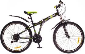 """Велосипед горный складной Formula Hummer AM 14G Vbr St 26"""" 2016 черно-зеленый, рама 15"""""""