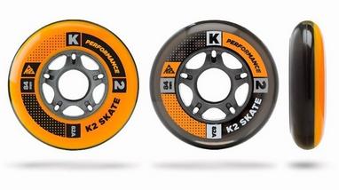 Колеса для роликов K2 84 mm Wheel 8-Pack/ILQ7 ALU SP - 2015 - 84 мм