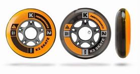 Колеса для роликов K2 80 мм Wheel 8-Pack/ILQ7 ALU SP - 2015