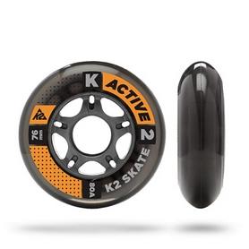 Фото 1 к товару Колеса для роликов K2 76 mm Wheel 8-Pack/ILQ5 ALU SP - 2015 - 76 мм